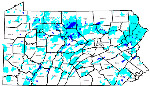 Pennsylvania's High Quality and Exceptional Value watersheds